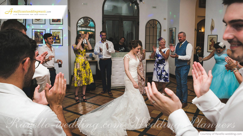 Ravello wedding music DJ