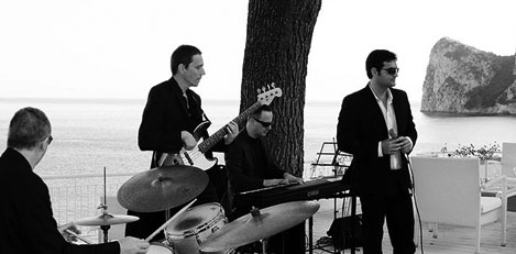 Italian Swing Band in Sorrento